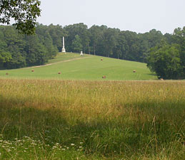 South Carolina Monument in Chickamauga Battlefield.