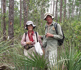 Rick and Jean in Everglades National Park backcountry.